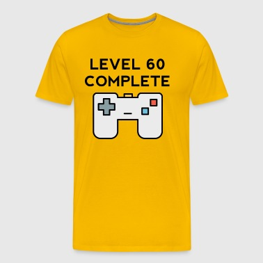 Level 60 Complete 60th Birthday - Men's Premium T-Shirt