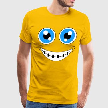 Braces face T Shirt halloween costume shirt group - Men's Premium T-Shirt