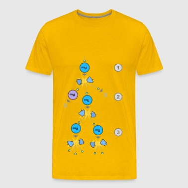 Fission Chain Reaction - Men's Premium T-Shirt