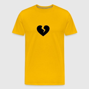 Broken heart icon - Men's Premium T-Shirt