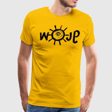 Glow - Hand & Sun (Black) - Men's Premium T-Shirt