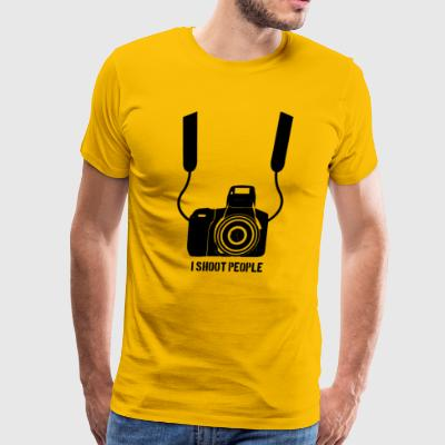 People Shoot - Men's Premium T-Shirt