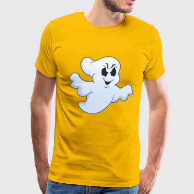 Halloween Evil Ghost - Men's Premium T-Shirt