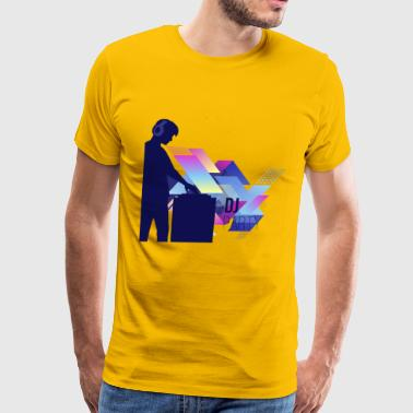 DJ PARTY - Men's Premium T-Shirt