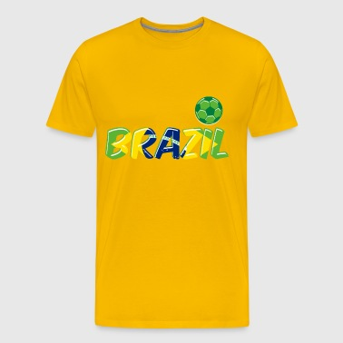 logo brazil world cup - Men's Premium T-Shirt