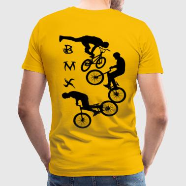 BMXBMX,cycling,bike,bmx,bicycle - Men's Premium T-Shirt