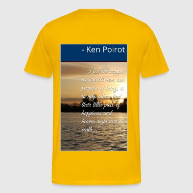 Philosophy: Life Purpose to Help Others - Men's Premium T-Shirt