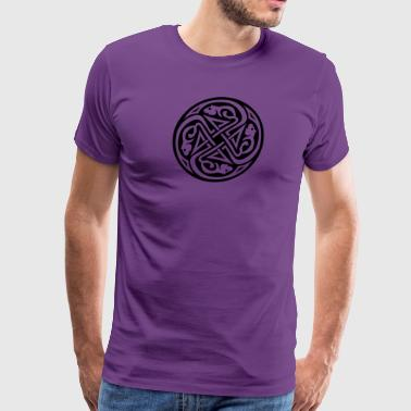 Celtic Rat Circle - Men's Premium T-Shirt