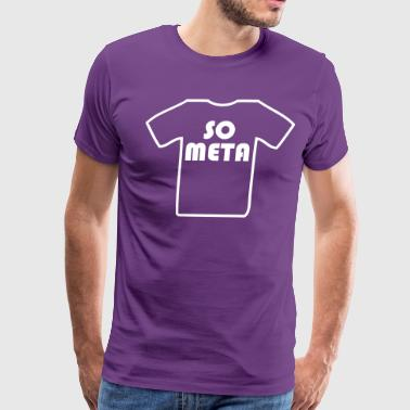 Meta Shirt on a Shirt - Men's Premium T-Shirt