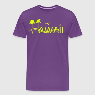 HAWAII Islands - Men's Premium T-Shirt