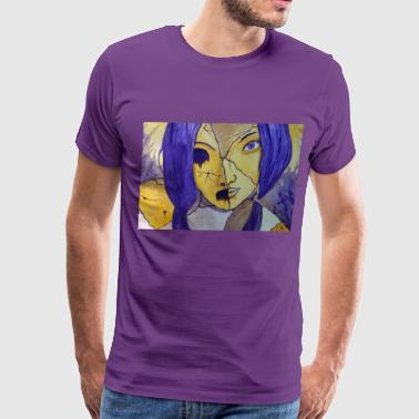 Girl behind the Masks - Men's Premium T-Shirt