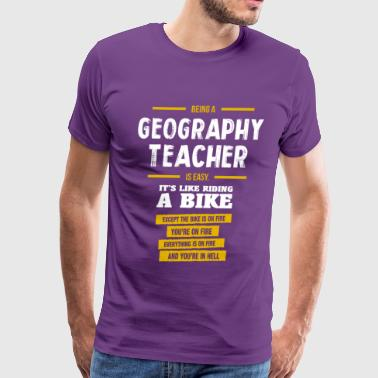 Geography teacher - Men's Premium T-Shirt
