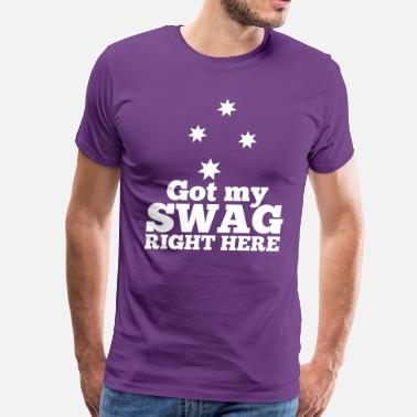 Southern Star GOT MY SWAG right here with southern cross stars - Men's Premium T-Shirt