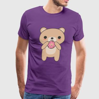 Cute and Kawaii Bear T Shirt - Men's Premium T-Shirt
