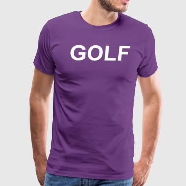 Golf Hip Hop Golf Funny retro odd hip hop fashion cool future s - Men's Premium T-Shirt