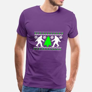 Funny Bigfoot Bigfoot - Men's Premium T-Shirt