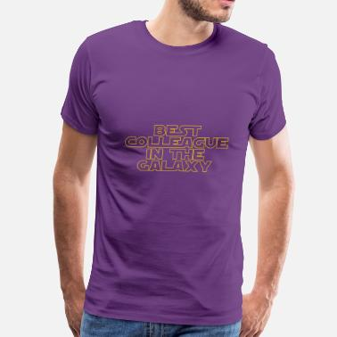 Colleague Best Colleague in the Galaxy - Men's Premium T-Shirt