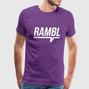 RAMBL - Men's Premium T-Shirt