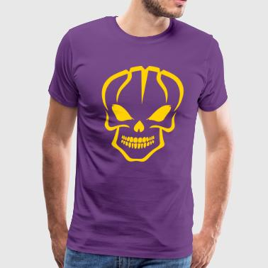 Basket Skull - Men's Premium T-Shirt