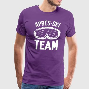 Apres-Ski Team - Men's Premium T-Shirt
