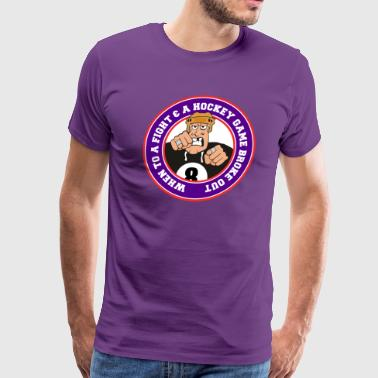 Funny Hockey - Men's Premium T-Shirt