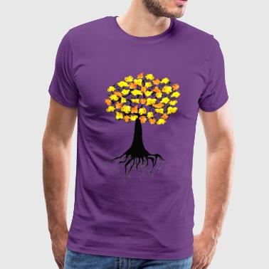 Popcorn Popping on the Apricot Tree - Men's Premium T-Shirt
