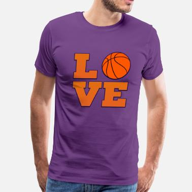 Phoenix Basketball Love Phoenix Suns Basketball  - Men's Premium T-Shirt
