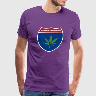 Cannabis Leaf - Men's Premium T-Shirt