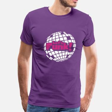 Vintage 70s disco ball - Men's Premium T-Shirt