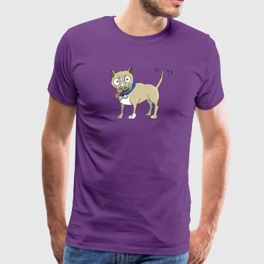 The Pitbull - Men's Premium T-Shirt