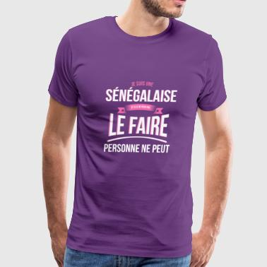 Senegalese no one can gift - Men's Premium T-Shirt