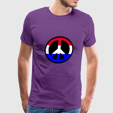Peace Logo - Men's Premium T-Shirt