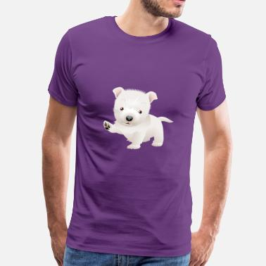 Sweet 22 Cute and sweet puppy 22 - Men's Premium T-Shirt