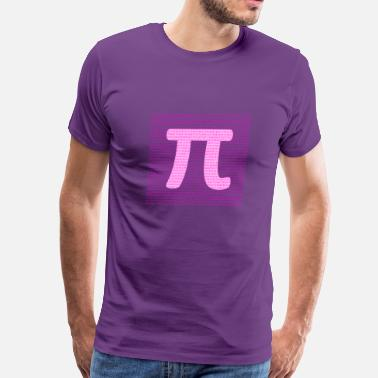 Pi Designs Pi 3.14 - science design - Men's Premium T-Shirt