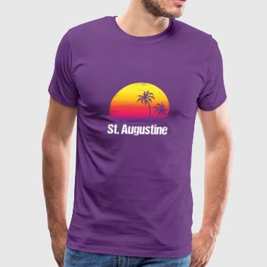 Summer Vacation St. Augustine Shirts - Men's Premium T-Shirt