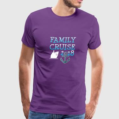 Family Cruise Vacation Gift - Men's Premium T-Shirt
