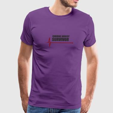 sudden cardiac arrest survivor - Men's Premium T-Shirt