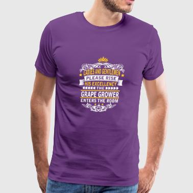 GRAPE GROWER - Men's Premium T-Shirt