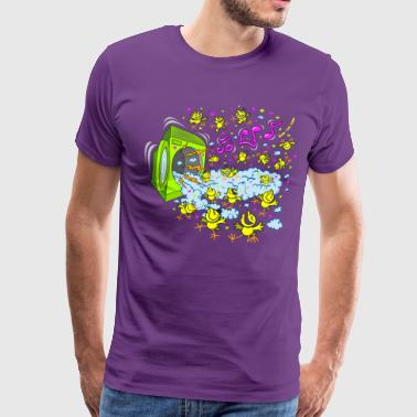 Foam Chicks Foam Party - Men's Premium T-Shirt