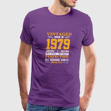 Vintaged Made In 1979 Limited Editon - Men's Premium T-Shirt
