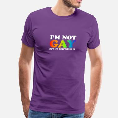 Im-not-gay Im Not Gay - Men's Premium T-Shirt