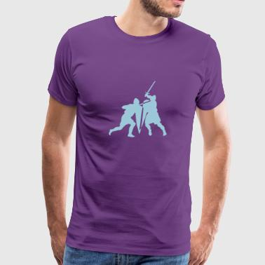 Sword fight - Men's Premium T-Shirt
