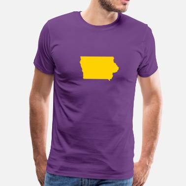 Iowa Iowa - Men's Premium T-Shirt