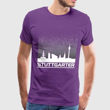 Stuttgart my city Germany - Men's Premium T-Shirt