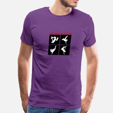 Hip Hop Breakdance Battle - Men's Premium T-Shirt