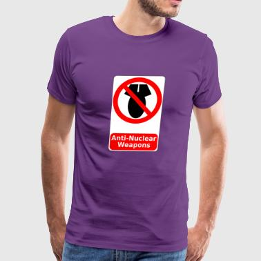 anti nuclear weapon - Men's Premium T-Shirt