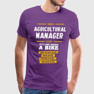agricultural manager - Men's Premium T-Shirt