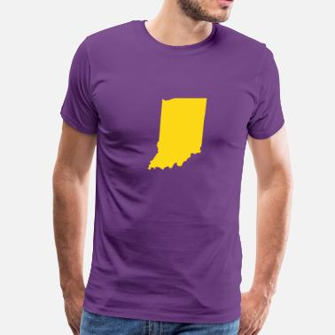 Indiana Indiana - Men's Premium T-Shirt