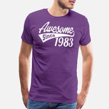 October 1983 Awesome Since 1983 - Men's Premium T-Shirt