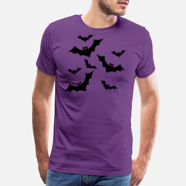 Bat Halloween bats - Men's Premium T-Shirt